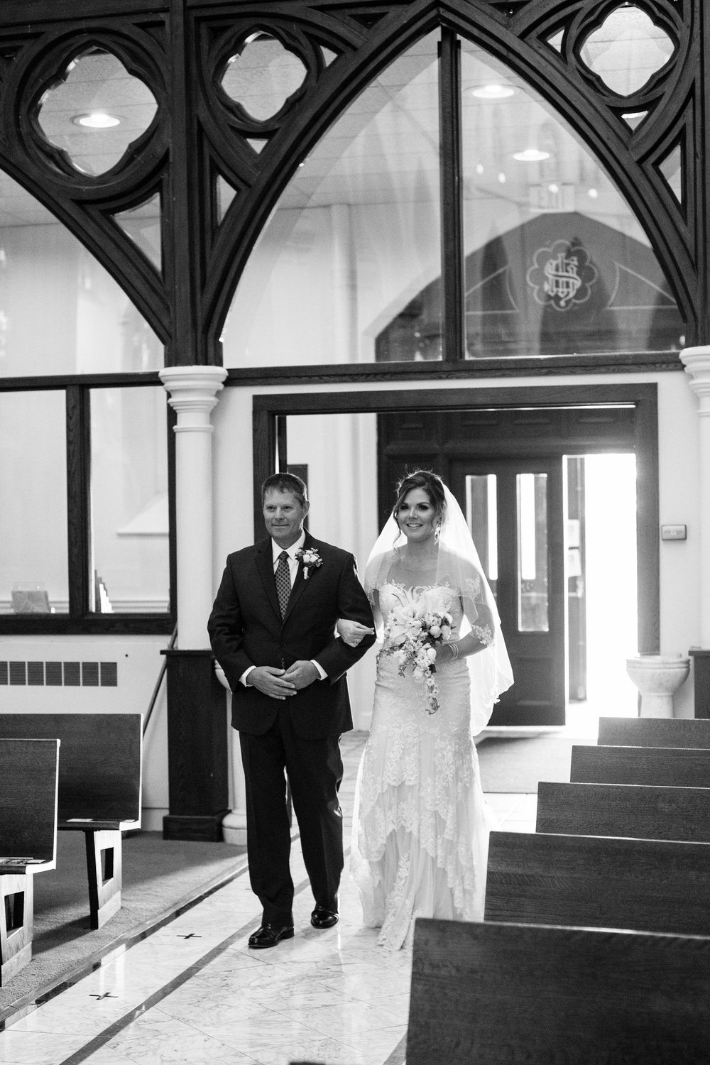 Cathedral of immaculate conception wedding