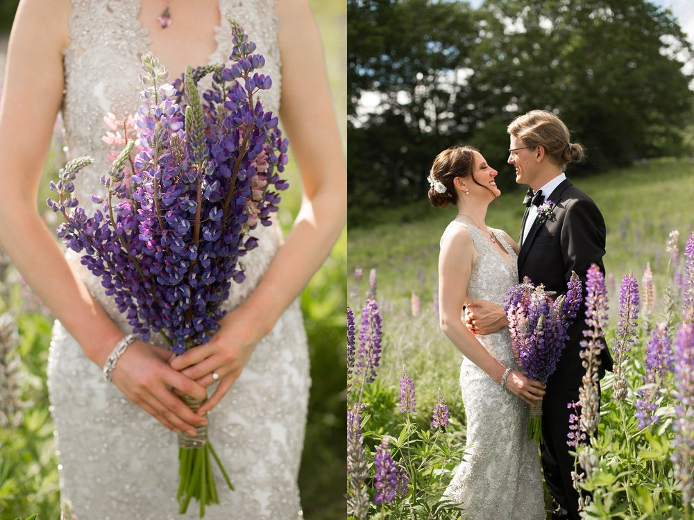 lupine wedding flowers