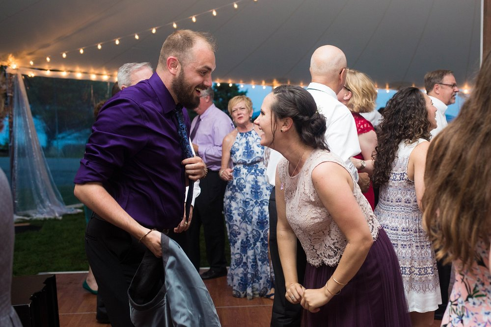 wedding dancing at reception