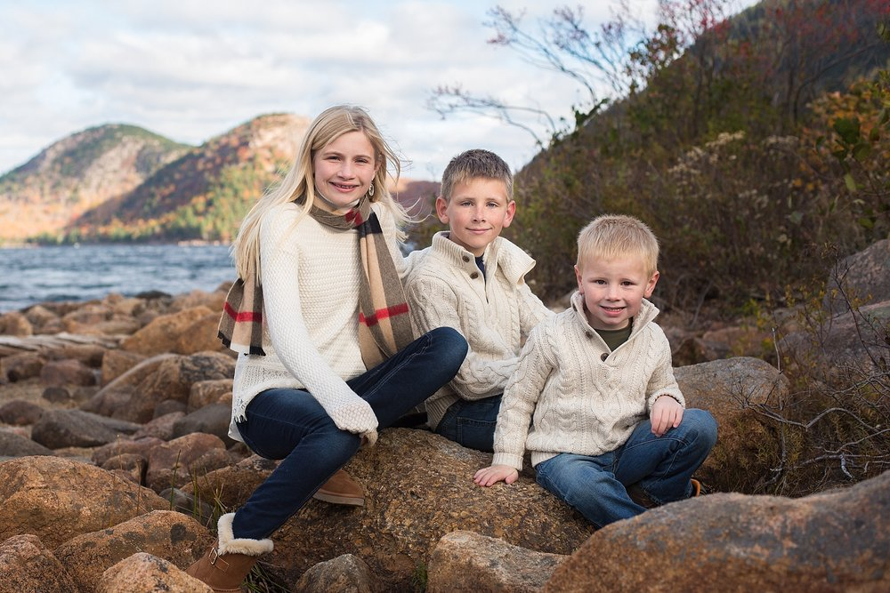 Bar Harbor Family Photographer