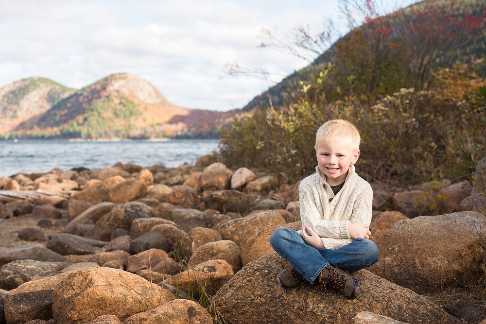 Bar Harbor Kids Photographer