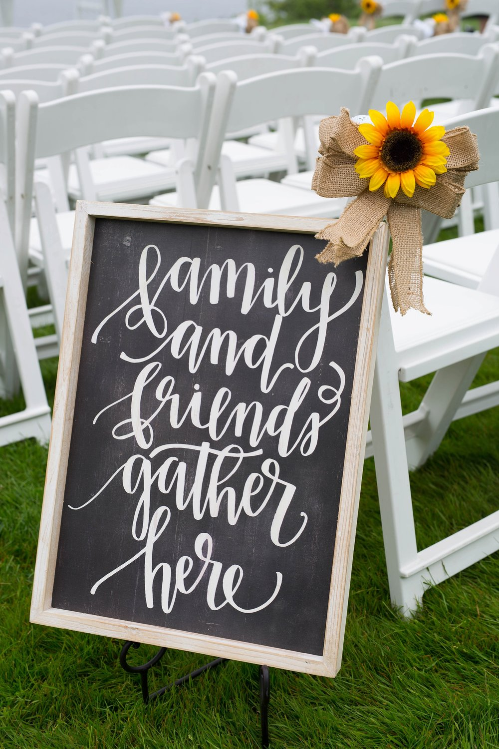 wedding ceremony sign ideas