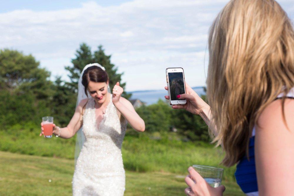 bride boomerang