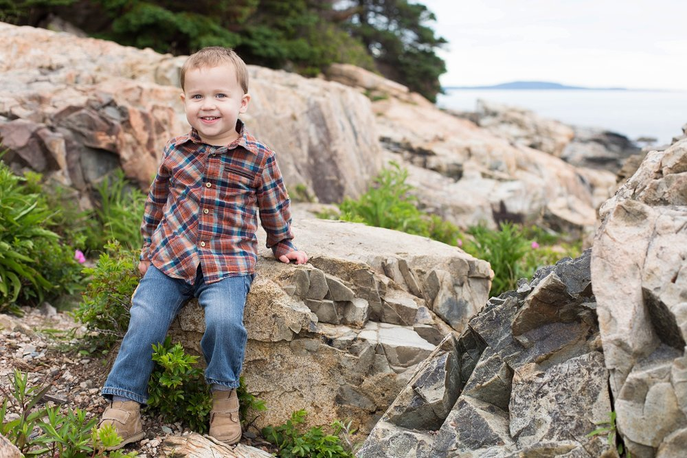 kids photographer in Bar Harbor