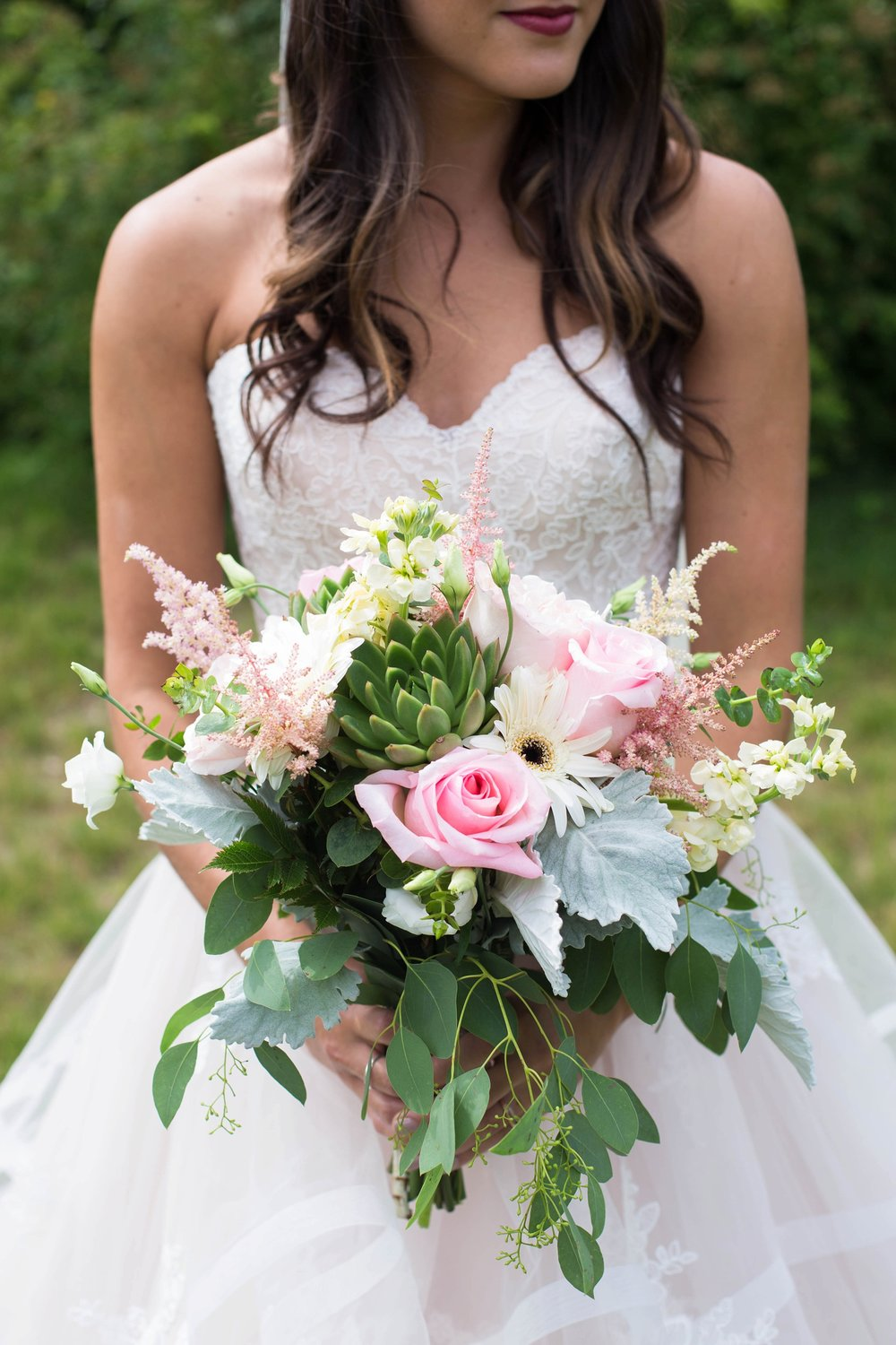 hampden floral bridal bouquet