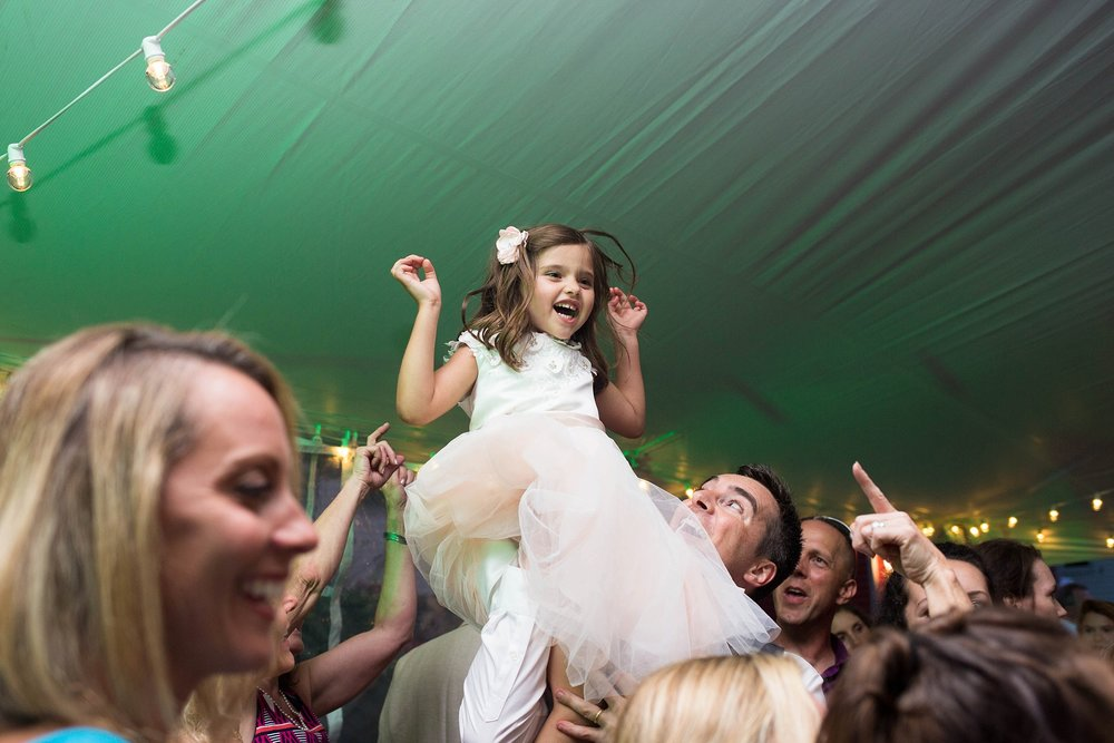 flower girl dancing