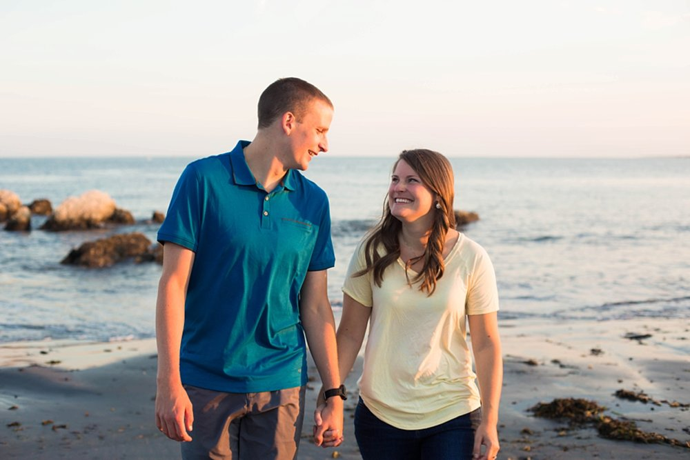 Kittery Maine Engagement Photographer