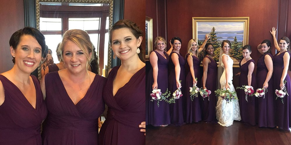 being a bridesmaid