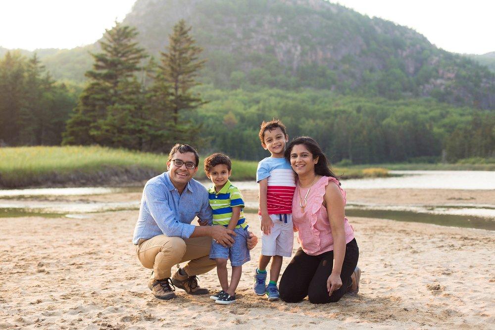 Bar Harbor Family Photographer Khot