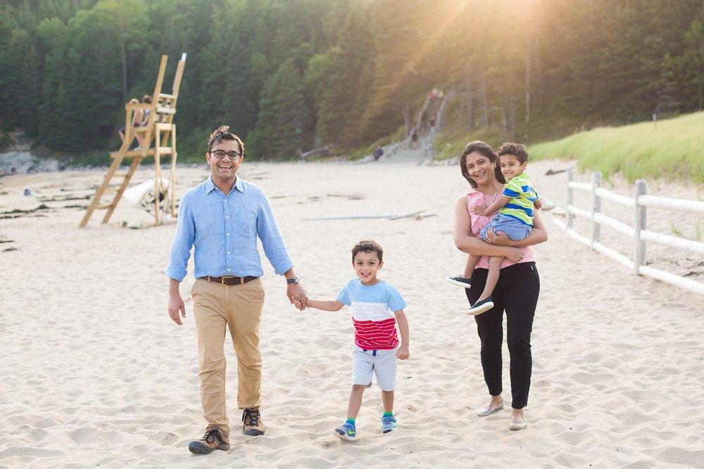 Sand Beach Family Photos