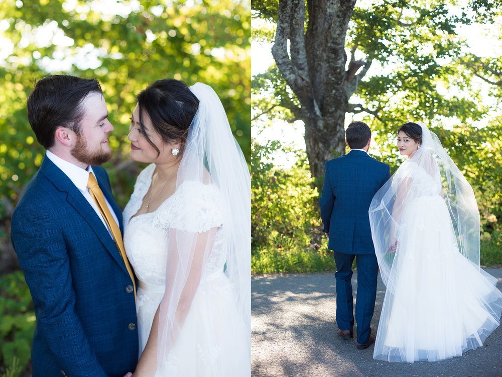wedding portraits in maine