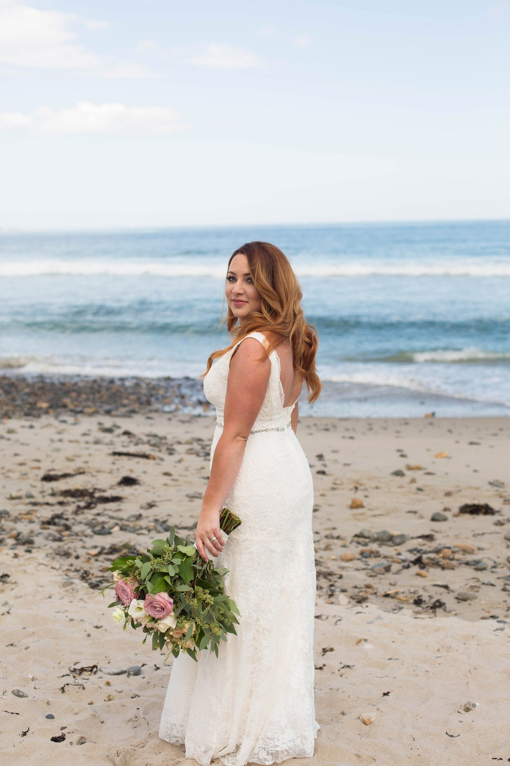 wells beach bridal portraits