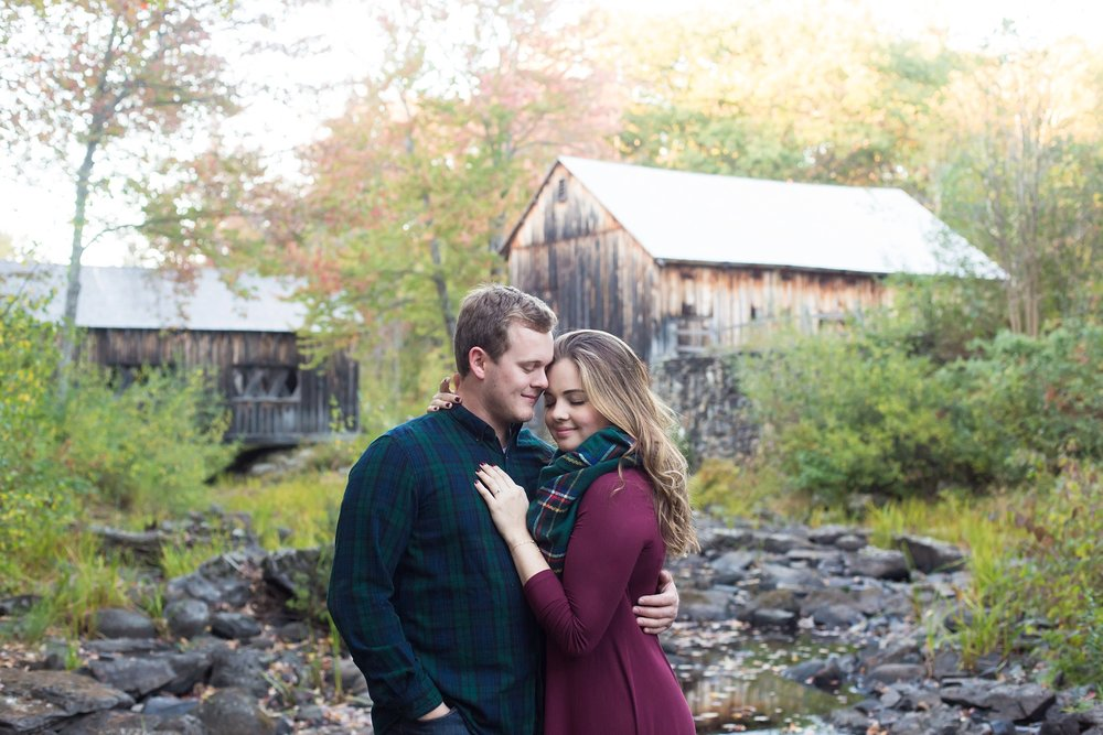 Maine engagement session