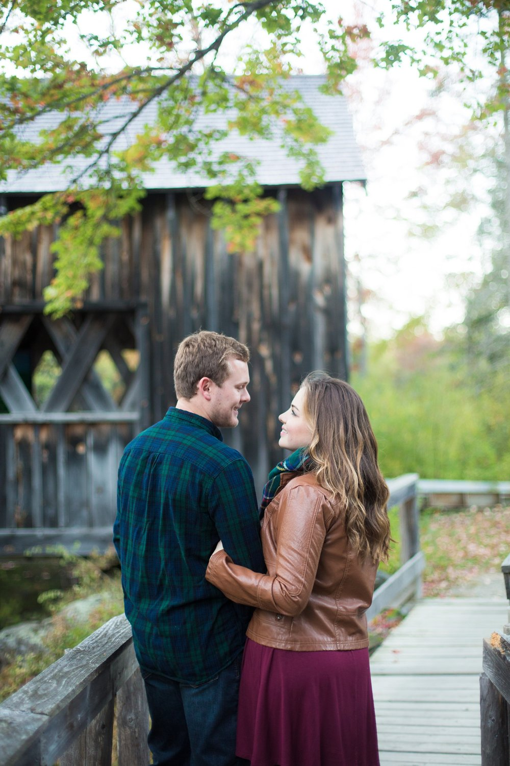 Bradley Maine Engagement Session