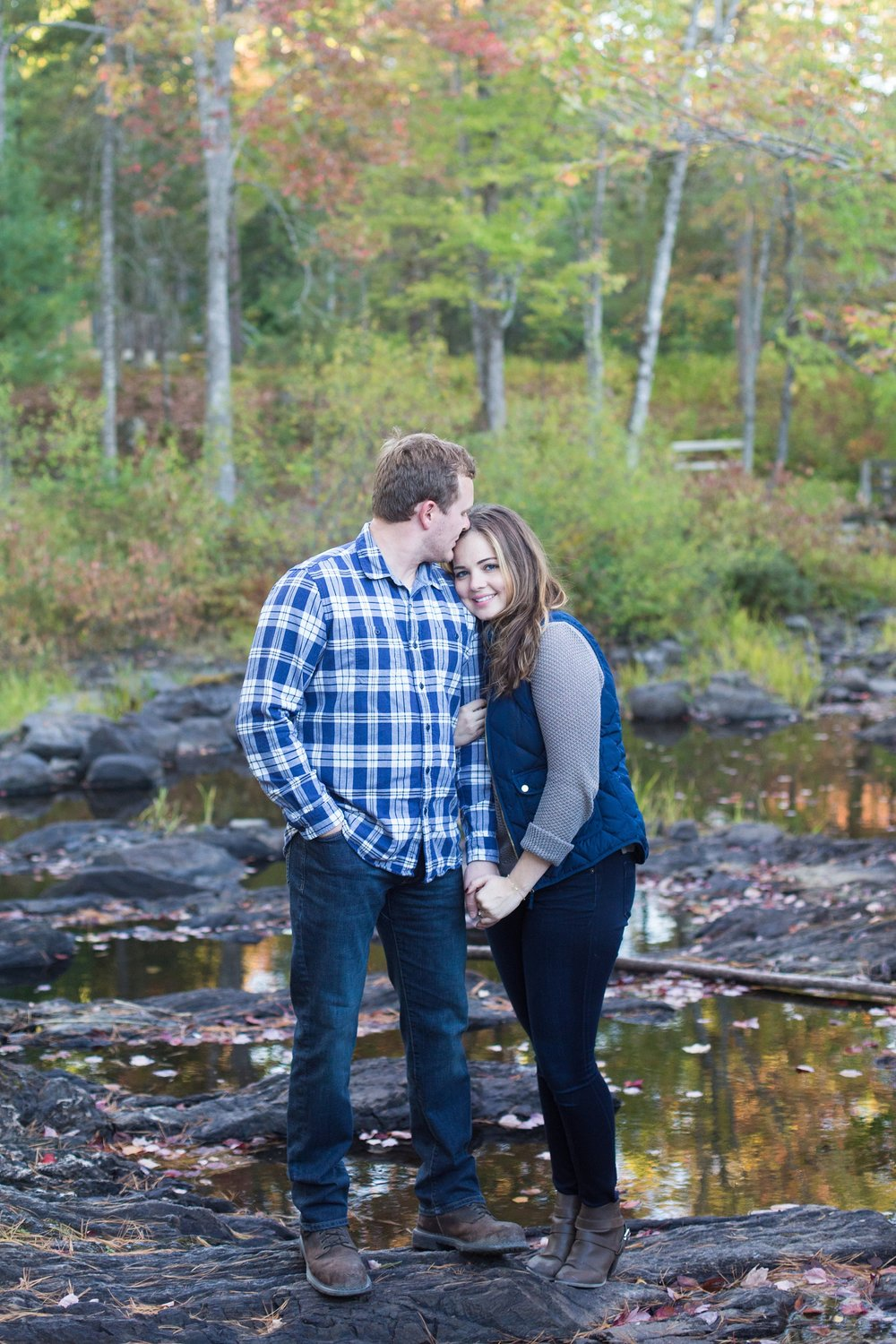 Maine Fall Engagement Pictures