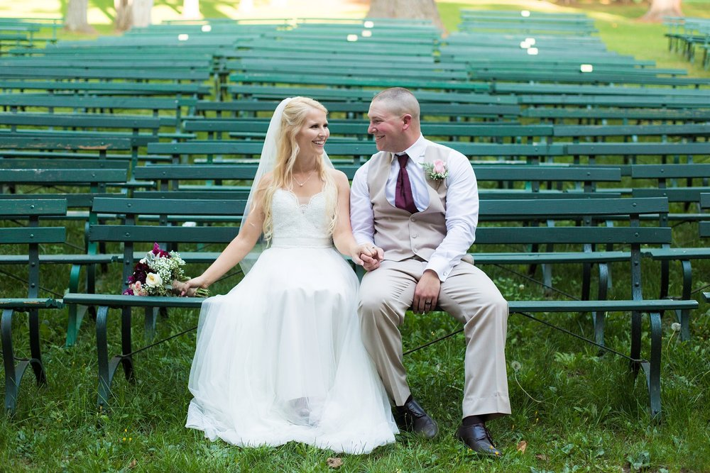 snow pond arts academy wedding