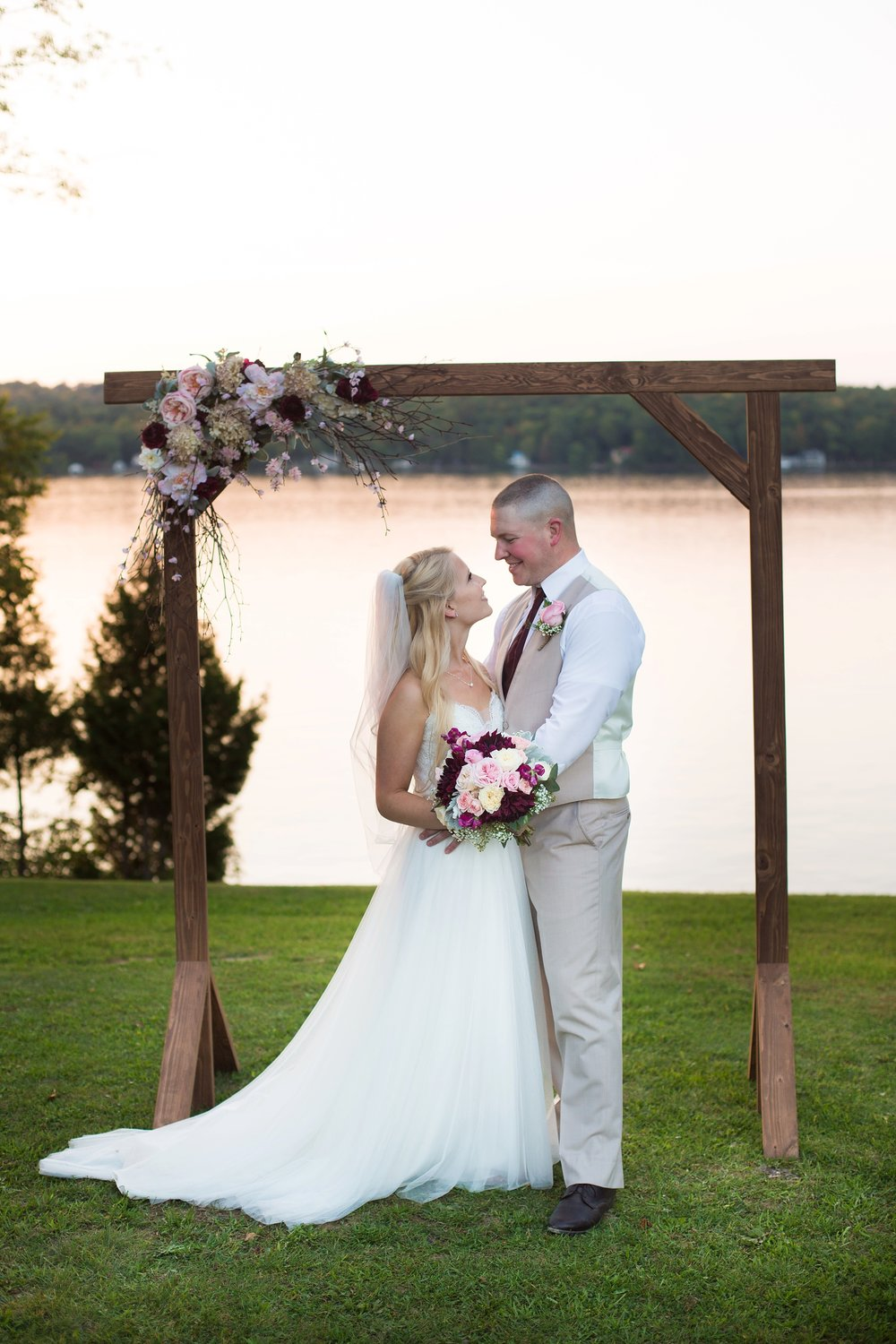 lake wedding