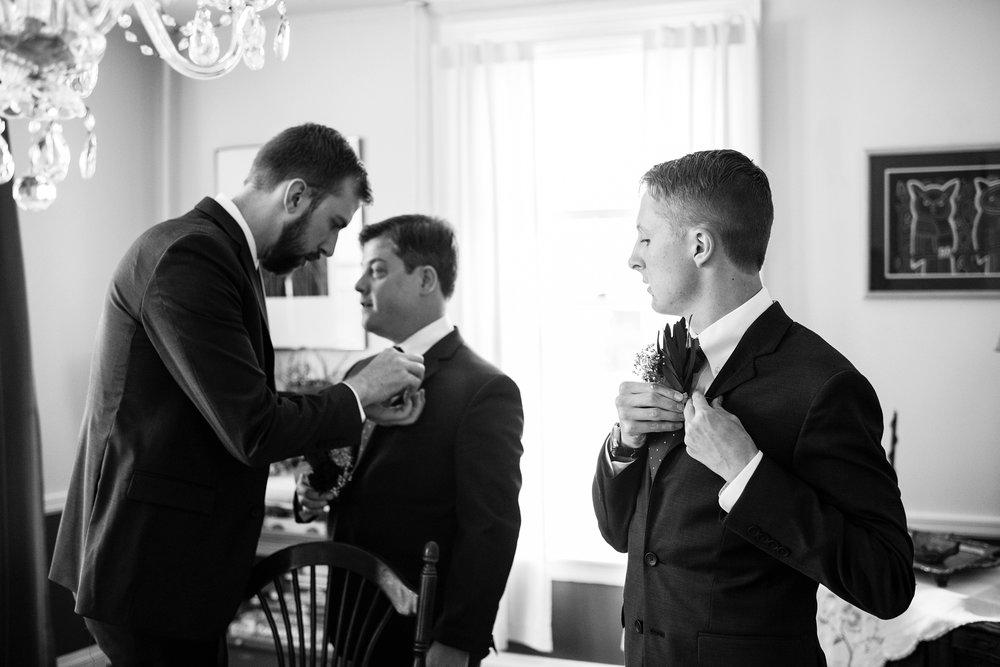 groom getting ready portland