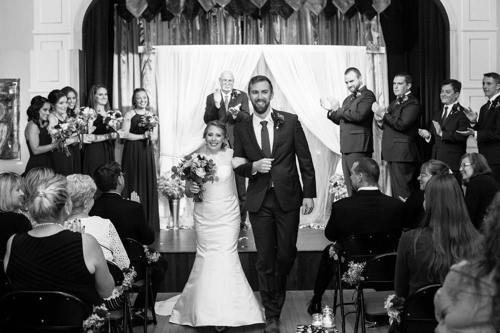 Mayo Street Arts Center Wedding