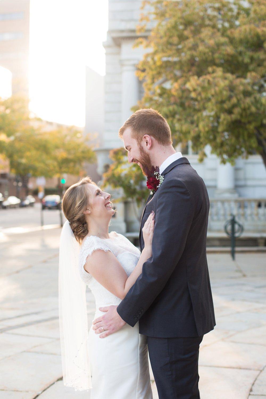 city wedding photos