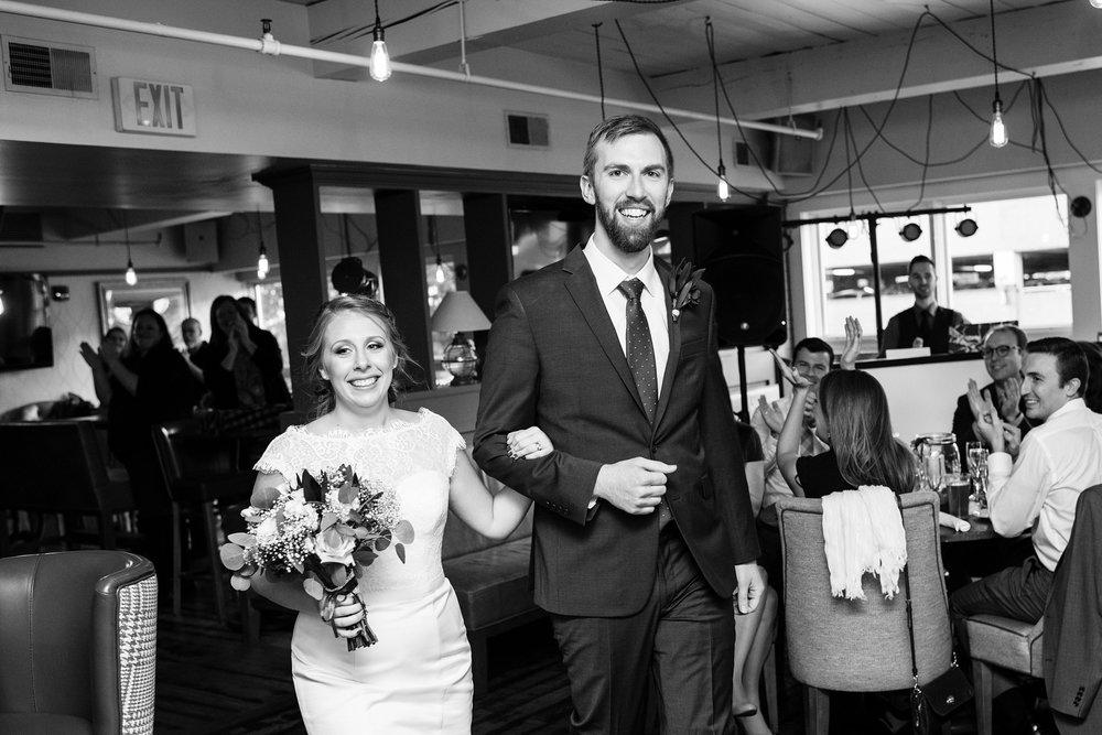 Portland Maine Wedding reception