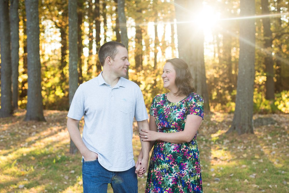 engagement photos at the martindale