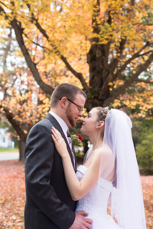 fall wedding portraits