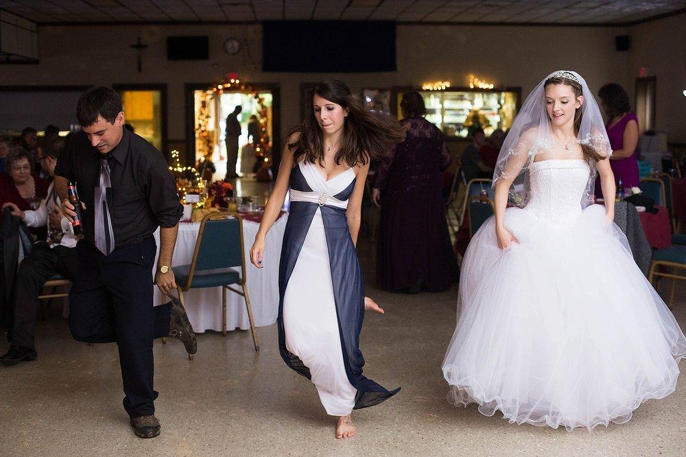 cotten eyed joy at wedding