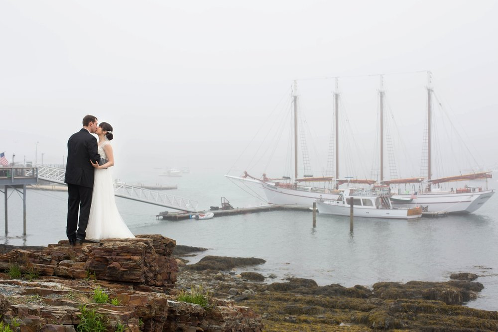 wedding photographers near bar harbor