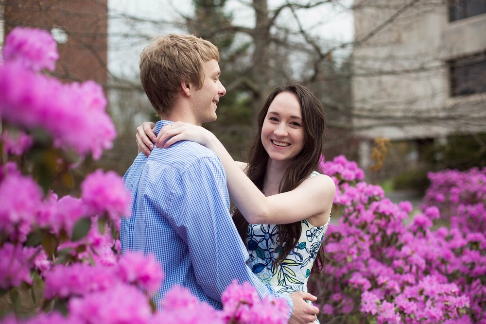 orono maine engagement pictures