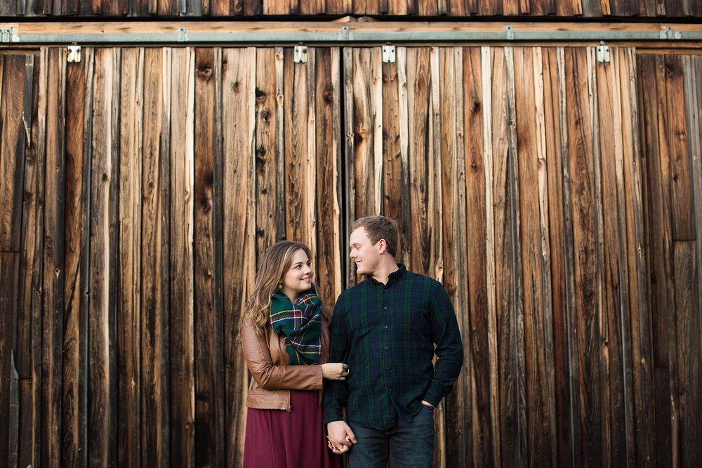 autumn engagement pictures