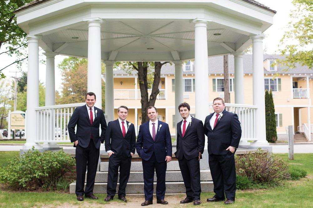 groomsmen bethel inn