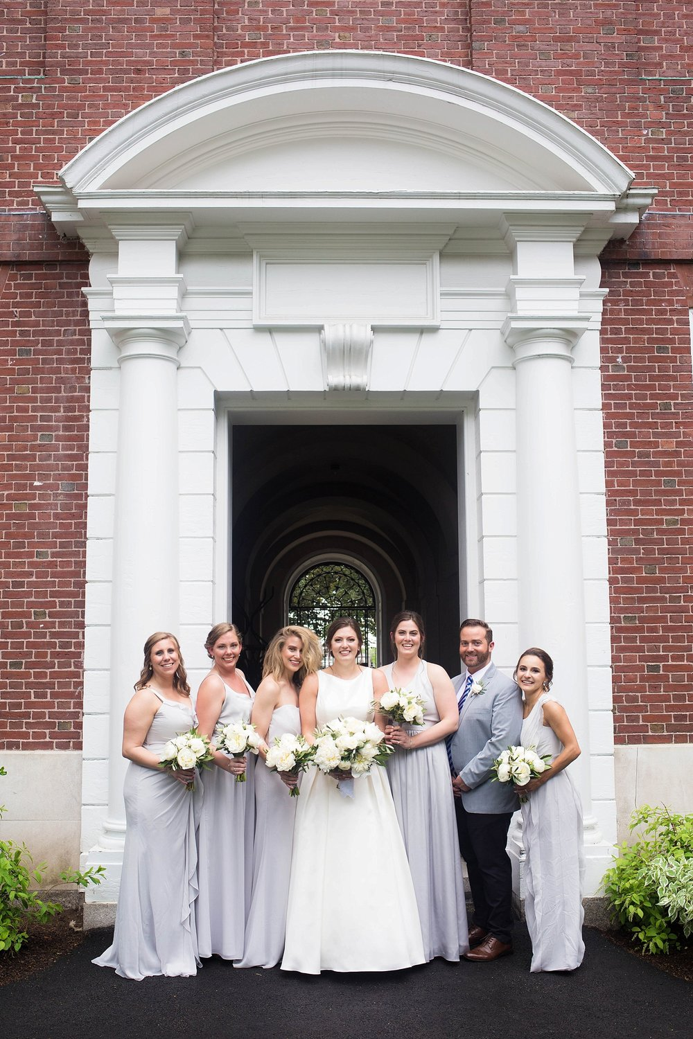 slate grey bridesmaids dresses