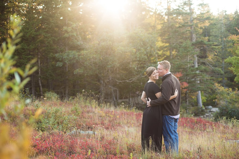 Acadia National Park maternity pictures