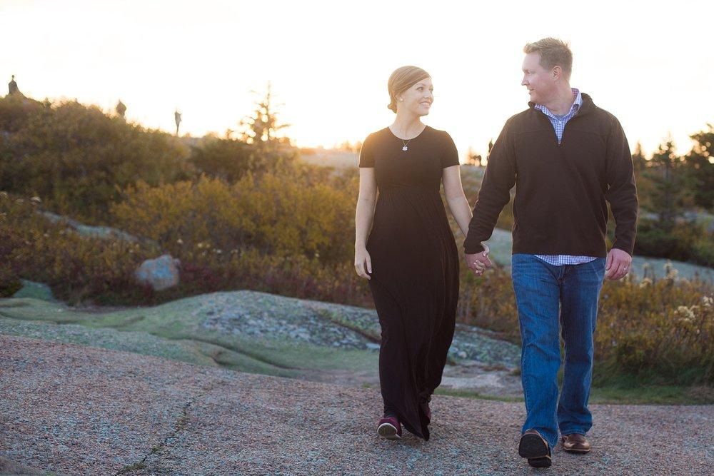 Photographers near Acadia National Park