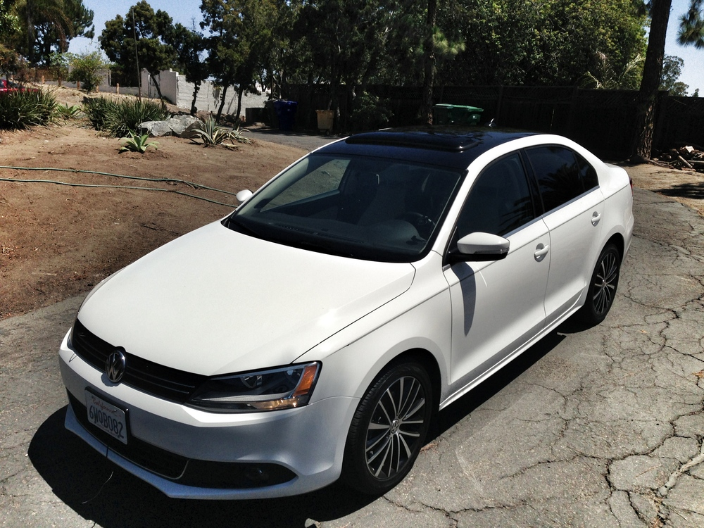 This Is A 2012 VW Jetta With A 3M Gloss Black Roof Vinyl Wrap Done By SD  Wrap In North County San Diego. The Roof On This Car Had No Seams To ...