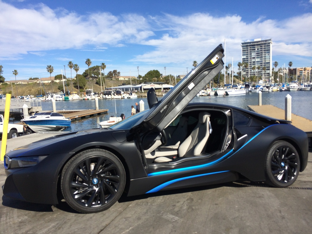 BMW I8 Vision Edition Complete Vehicle Restyle Designed By SD Wrap