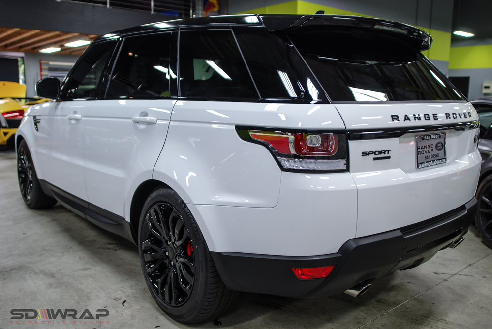 Range Rover Sport 2015 Blacked Out