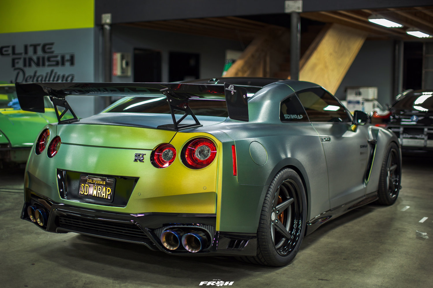 Tanner Fox's 2017 Nissan GT-R Build — SD WRAP