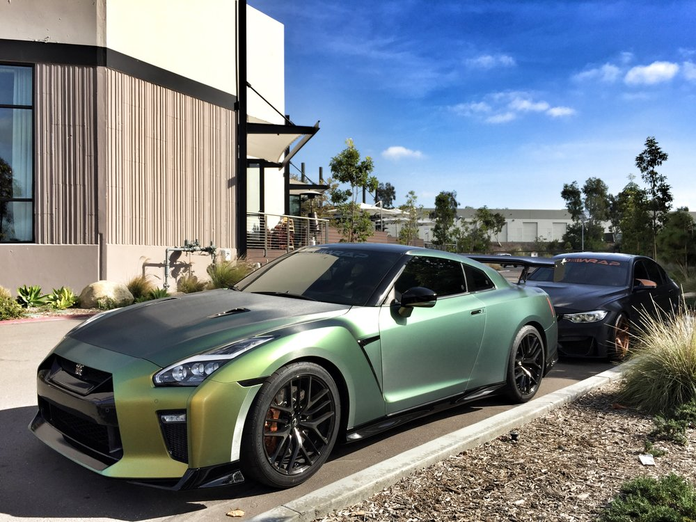 tanner fox 39 s 2017 nissan gt r build sd wrap. Black Bedroom Furniture Sets. Home Design Ideas