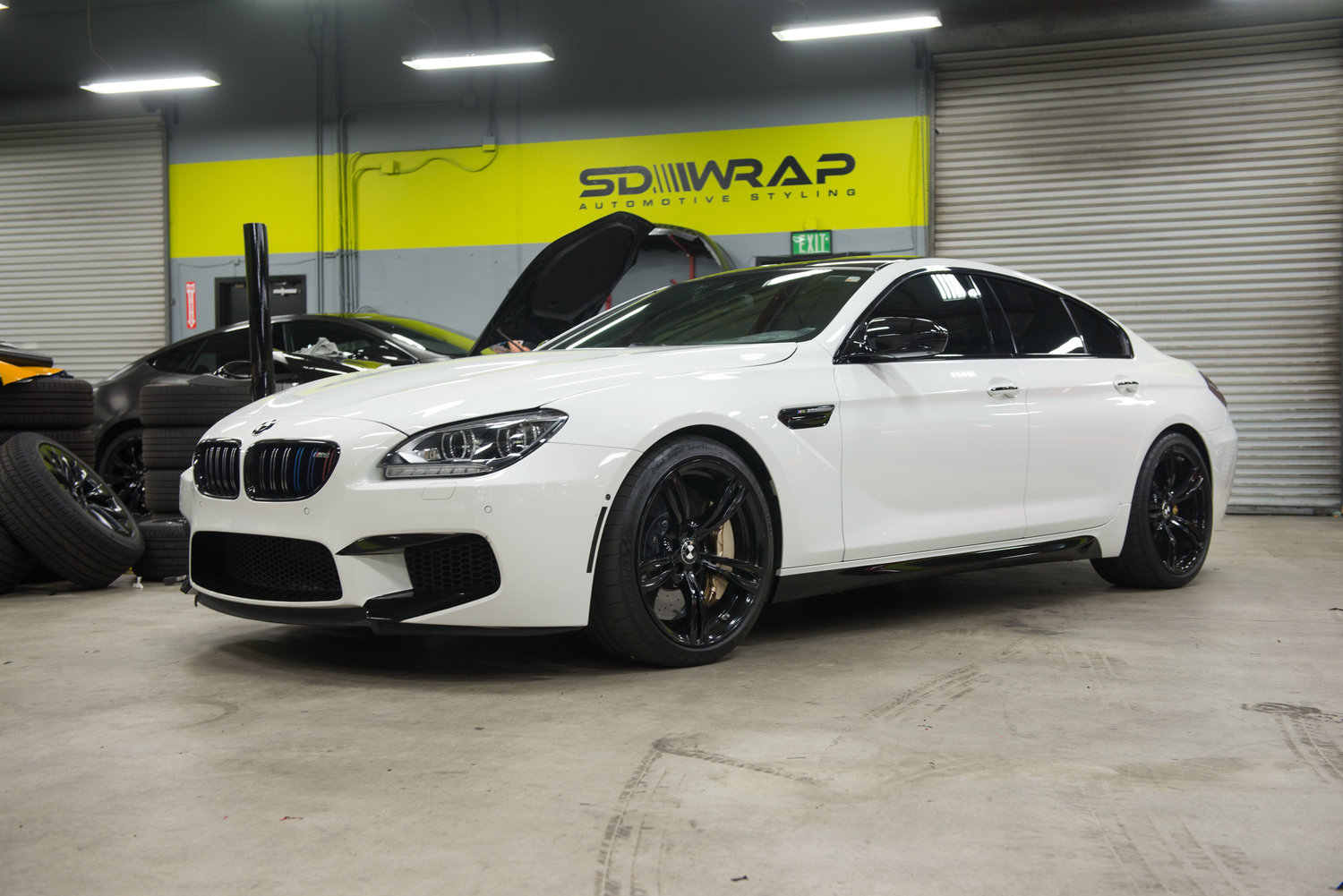 Coupe Series bmw gran coupe m6 BMW M6 Gran Coupe (Blackout Package) — SD WRAP