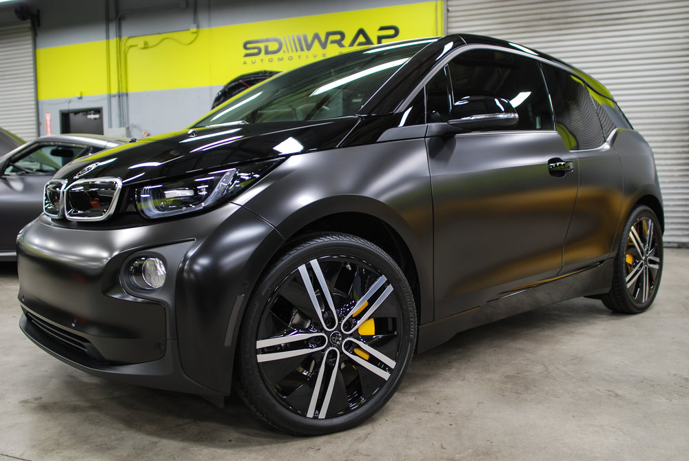 Bmw I3 Two Tone Package Sd Wrap