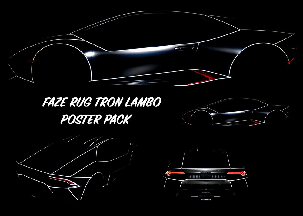 CLICK FOR THE TRON LAMBO POSTER PACK