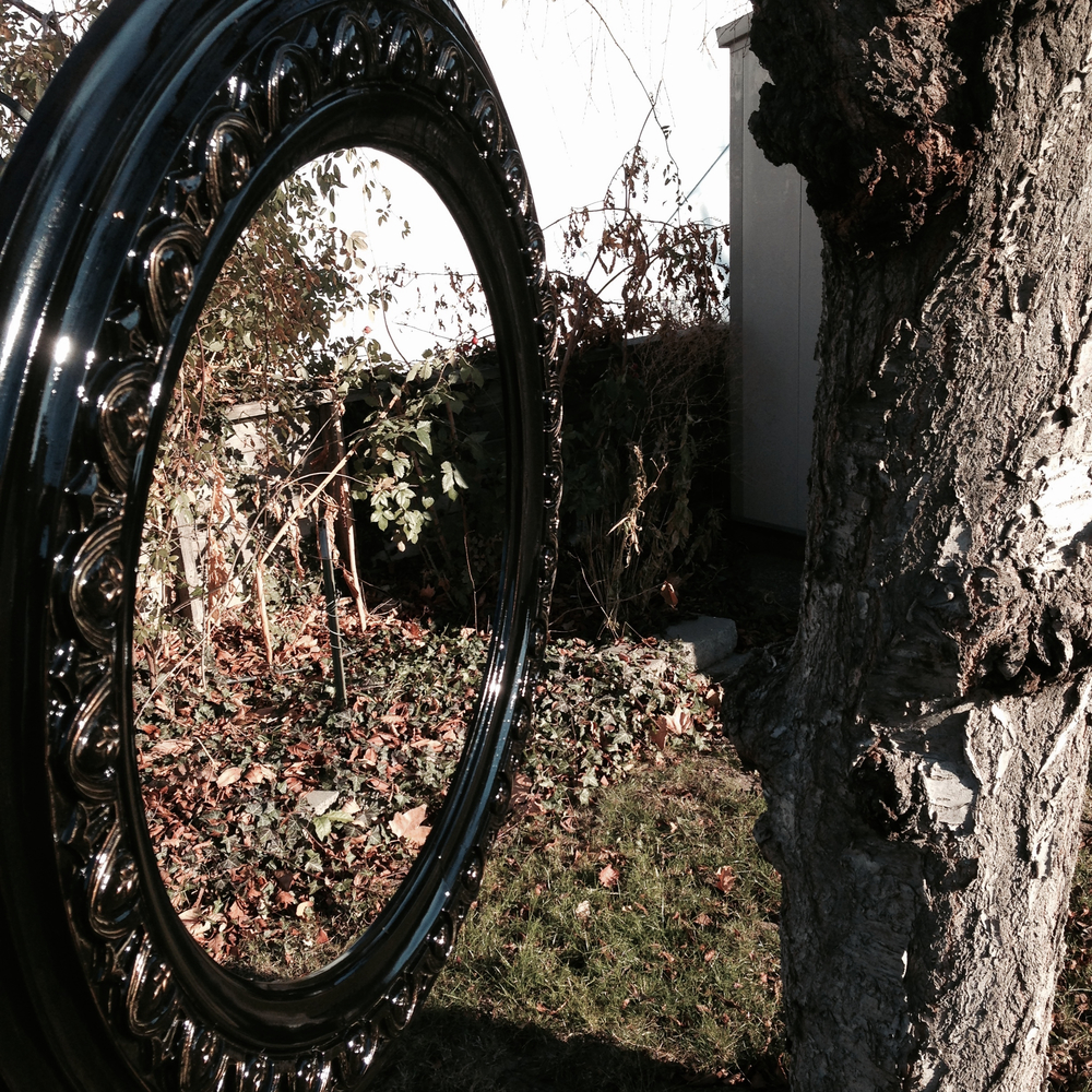 The Winterized DIY Mirror