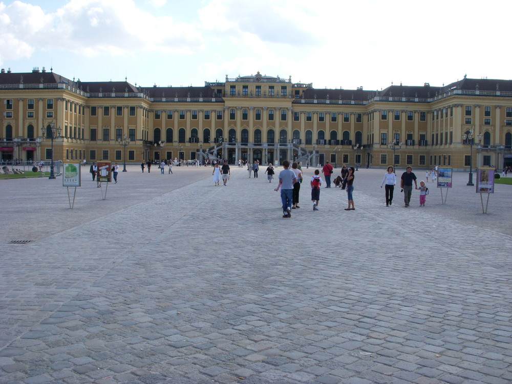 The Schönbrunn Palace is a former imperial 1,441-room Rococo summer residence in Vienna, Austria. One of the most important cultural monuments in the country, since the 1960s it has been one of the major tourist attractions in Vienna. The palace and gardens illustrate the tastes, interests, and aspirations of successive Habsburg monarchs.
