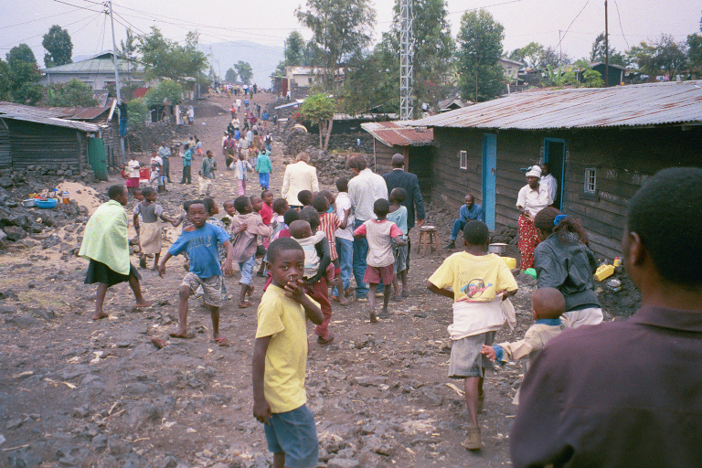 This is a photo is from my missions trip to Africa. We went for a speak at a church in Goma. It was kind of intense, there apparently was fighting going on within 100 miles of where we were. You can check out Africa Mission Trip 2002 -- pt 1 Facebook Album and Africa Mission Trip 2002 -- pt 2 Facebook Album.