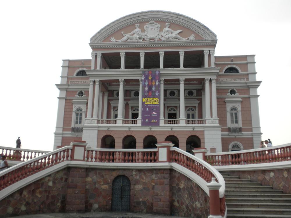 The Teatro Amazon