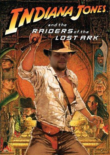 Jacob Campbell and the Raiders of the Lost Ark! Very quickly photo shopped image of Indaina Jones and The Raiders of the Lost Ark movie poster with my face.