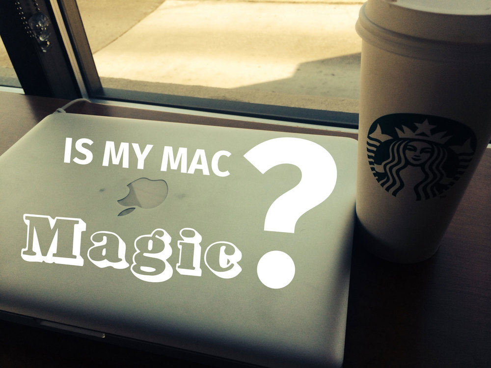 A photo of my Macbook Pro taken as I was writing this post at Starbucks off of 390 in Kennewick...