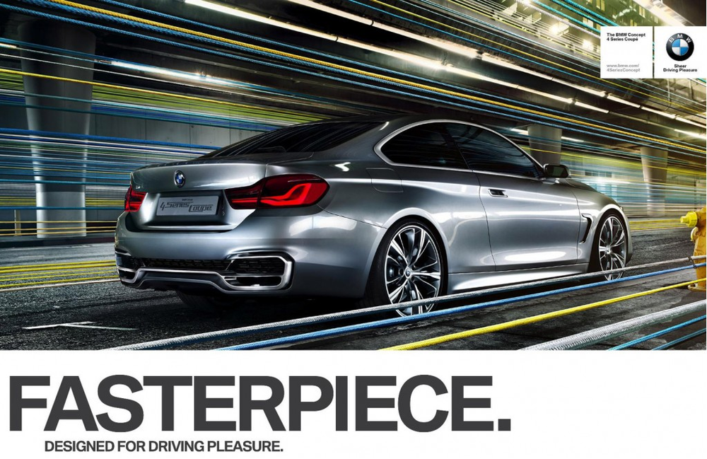2013 Design Impulse Ad Campaign, ServicPlan, Hamburg for BMW